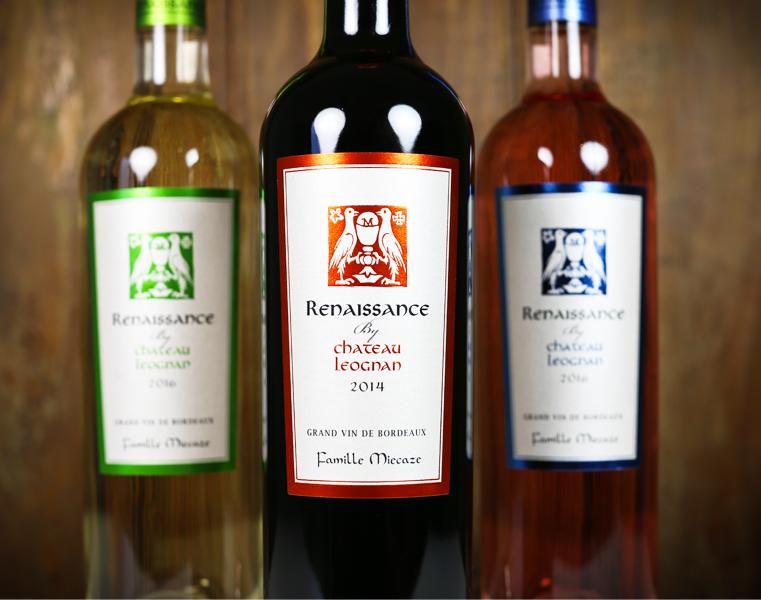 gamme étiquette vin