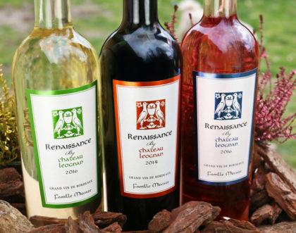 Design d'étiquettes pour une nouvelle gamme de Bordeaux