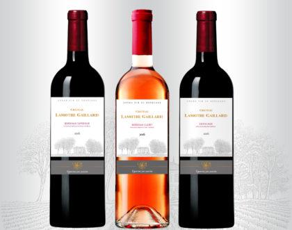 Nouvelles étiquettes pour la gamme d'un Château Bordelais