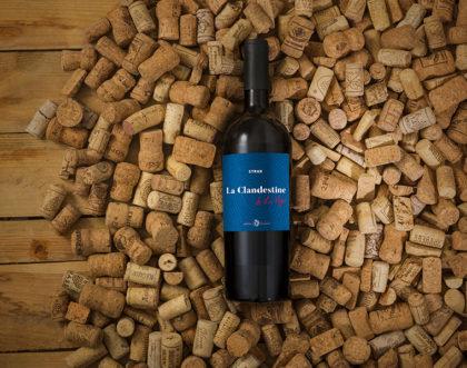 Création de packaging pour un Vin de France 100% Syrah