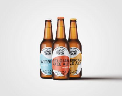 Refonte de packagings de bières pour la gamme QUITOUILLE, brasseur houblonnier