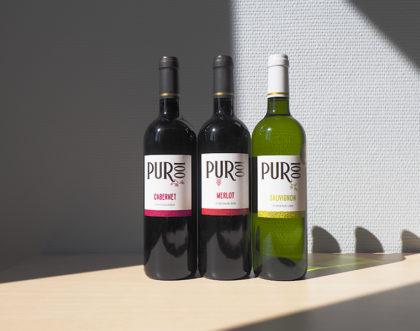 Nouveau Packaging pour une gamme de vin mono-cépage en Bordeaux