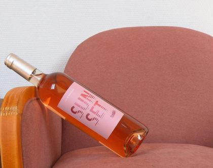 Création du packaging pour un Bordeaux Rosé «sunset»