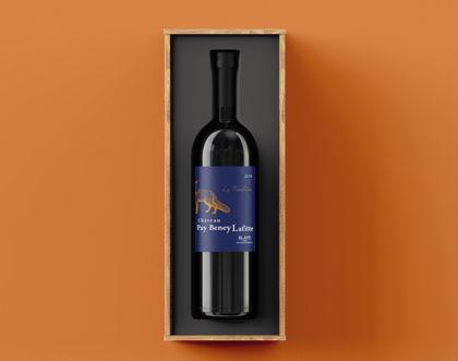 Refonte de packaging pour un vignoble à Mazion
